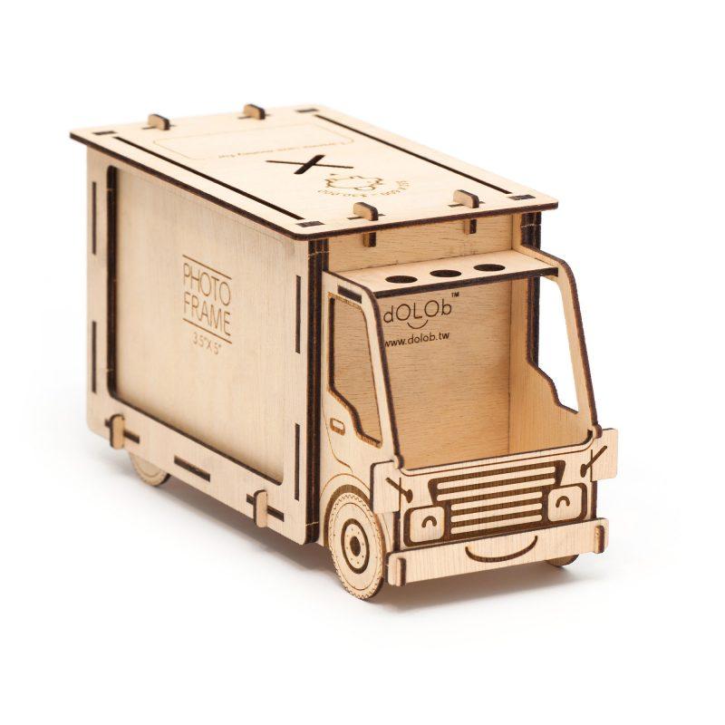 """Truck M 發財車3.5X5""""相框撲滿(中)"""